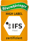HIGH LABEL - IFS Food zertifiziert